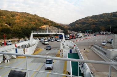 Valbiska ferry