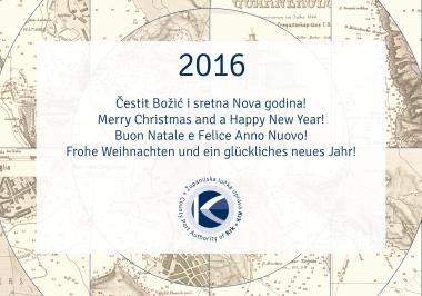 Sretan Božić i uspješna nova 2016. godina