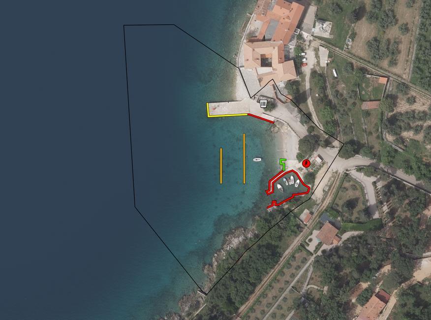 Luka Glavotok - otok Krk