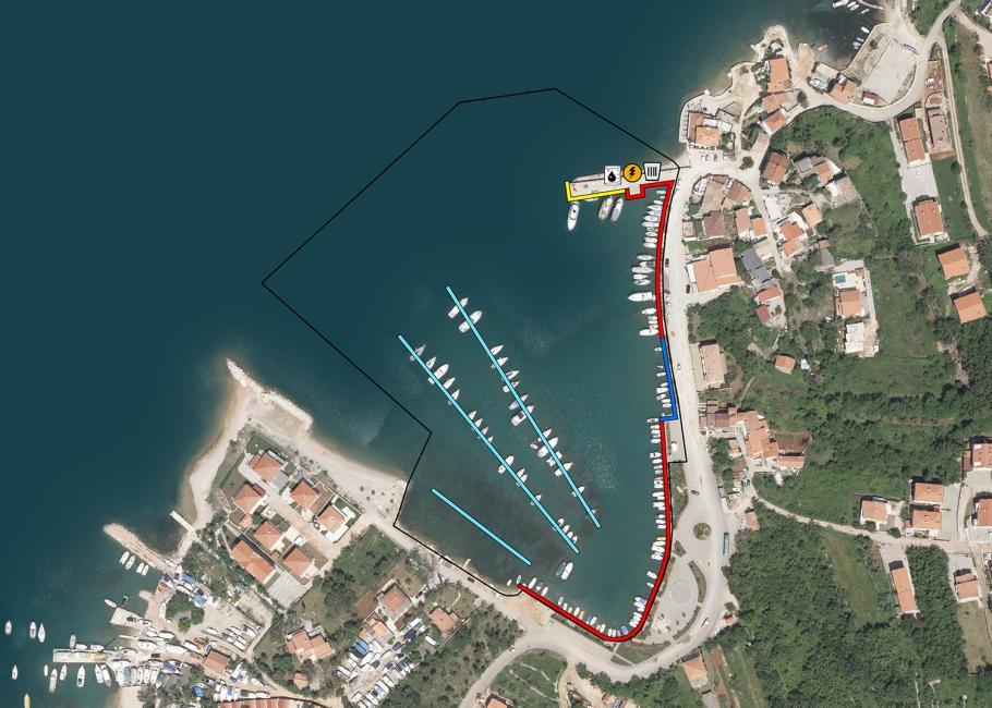 Luka Klimno - otok Krk