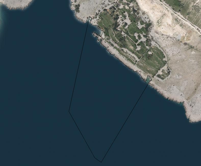Luka Surbova - Baška - putnička luka - otok Krk