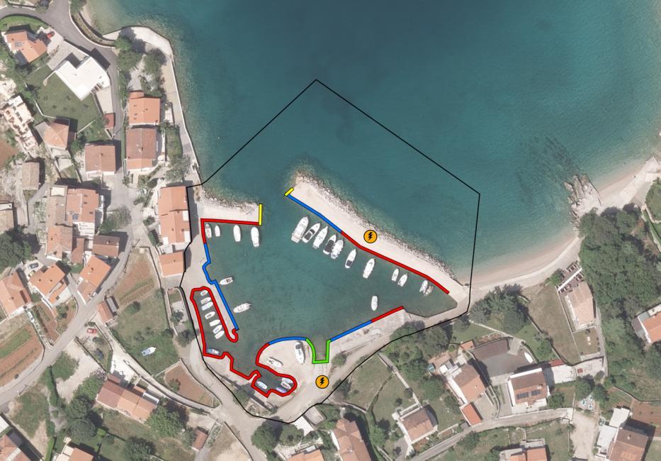 Luka Vantačići - Malinska - otok Krk