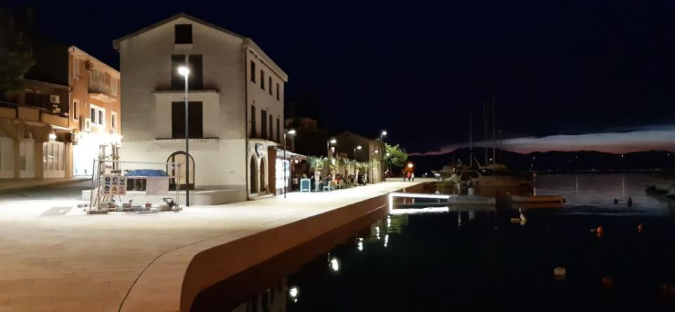 Malinska - završeni radovi na obali 2020. godina - foto Mladen Trinajstić